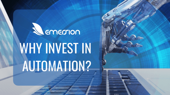 Why invest in automation?