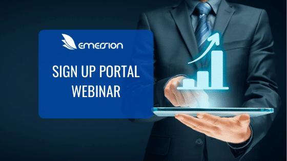 Sign Up Portal Webinar
