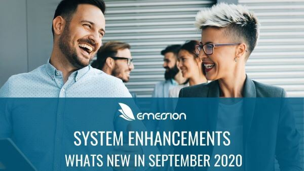 What's new at Emersion – September 2020