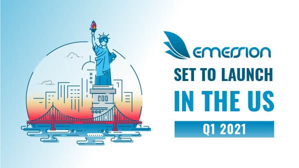 Emersion will launch in the United States Q1 2021