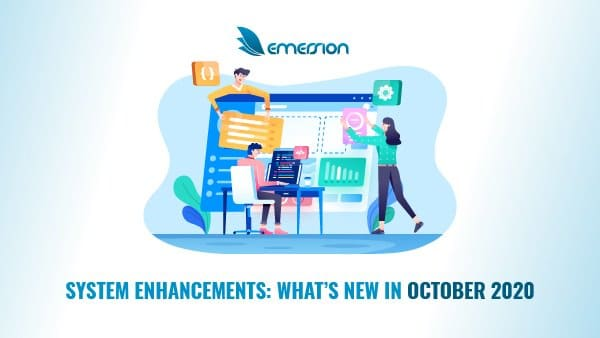 What's new at Emersion – October 2020