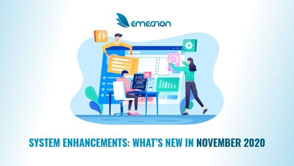 What's new at Emersion – November 2020