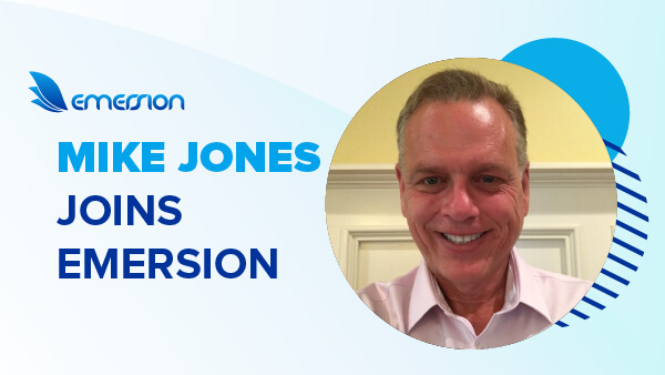 Mike Jones joins Emersion